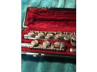 Yamaha silver plated Flute (made in Japan )