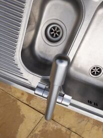 Franke Stainless Steel One and Half Bowl Sink with Mixer Tap