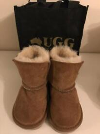UGG baby boots 12-18 months