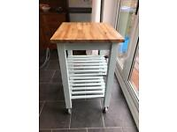 Painted IKEA BEKVAM Kitchen Island Trolley, £20