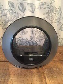 JBL Radial Micro iPod iPhone Audio Dock Multimedia Speaker System