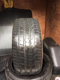 2x 255 40 21 Pirelli & Dunlop free fitting