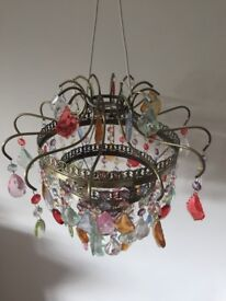 Small chandelier / light shade