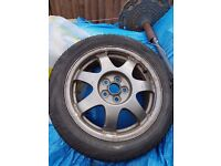 195 55 R16 Toyota prius alloy and tyres