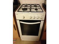 Gas cooker freestanding working order