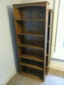 Large Pine Bookcase
