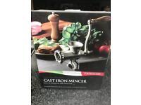 Kitchen craft cast iron mincer