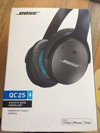 NEW bose Qc25 headphones