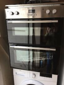 Logik Built in Double Electric Oven New and Unused