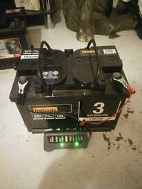 Car battery perfect working order