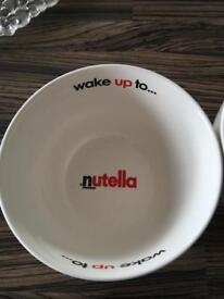 Nutella China bowls