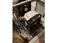 AMD CPU, Motherboard, 8GB DDR3 RAM, 550ti and PSU