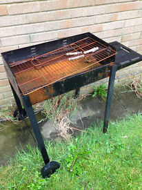 Small Black Charcoal BBQ Barbecue FREE