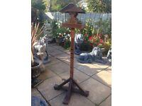 Lovely bird table