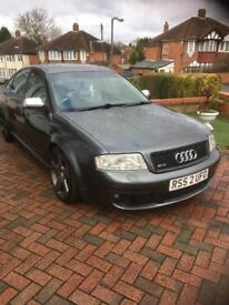 Audi rs6 saloon every opt extra and private Reg included