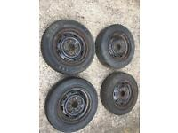 4 classic mini wheels 12 inch