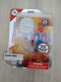 Various toys - kite, Spiderman, jigsaw puzzle