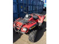 2008 58 canam 800 outlander road leagal