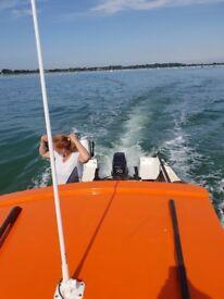 Hardy 18 fast Fisher fishing boat