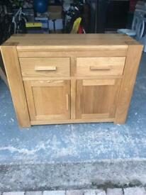Solid Oak Drawer Cabinet