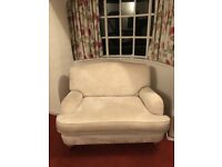 Laura Ashley snuggle chair from smoke free home