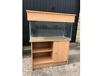 2.5ft Fish Tank with Cabinet