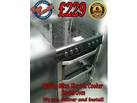 Belling 60cm Electric Cooker Double Oven