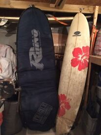 Surf board - Excellent Minimal Escape board with Bag