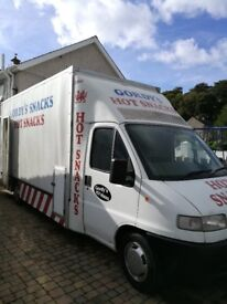 Catering / Burger Van With Equipment LPG Gas and ELectric