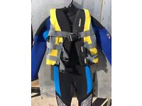 Wetsuit and buoyancy aid