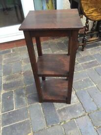 Solid wood 3 tier plant stand or for any other use