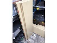 Free wooden shelves ex shop display