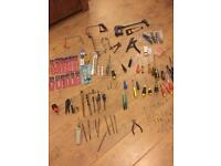 Job lot of new and used hand tools over 50 items