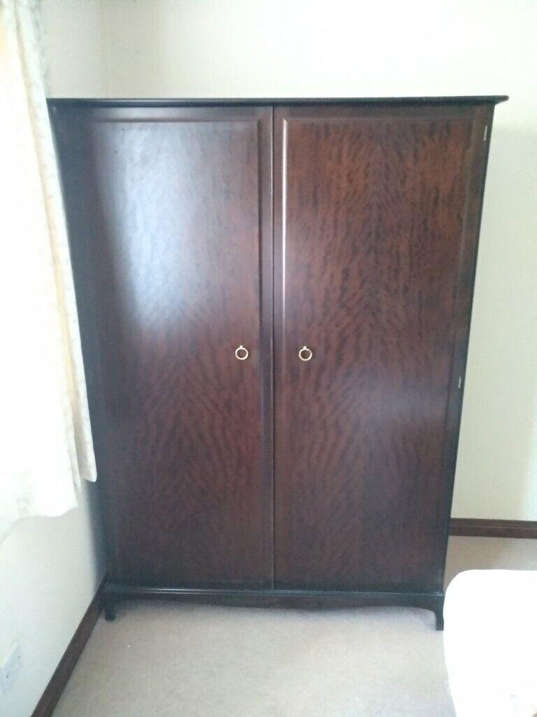 Stool Bedside Table: Solid Wood Bedroom Furniture Set, Wardrobe, A Bedside