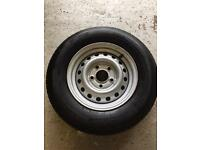 Spare wheel & unused tyre caravan / trailer