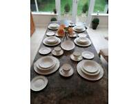 Plates dinnerware set