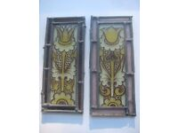 Selection of stained glass windows. Pickup welcome. Shipping for each £10