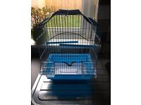 Bird cage starter kit come with 2 feeders 2 perches and a swing