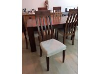 Quality Oak dining chairs