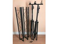 3m lighting truss with tripod stands - Used