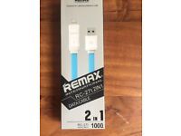 Remax Data Cable 2 in 1