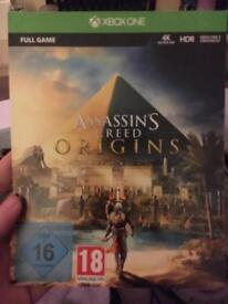 Redeemable Assassins Creed Origins Xbox One code