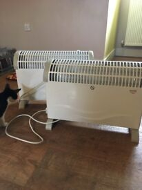 2 electric heaters for sale make me an offer