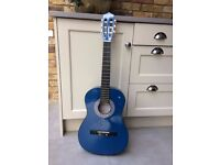 3/4 length classical acoustic guitar - right handed