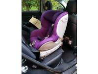 Britax Romer Dualfix ERF Car Seat - Mineral Purple