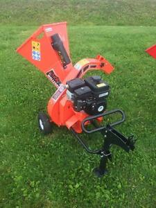 "**USED** 3"" Wallenstein Woodchipper"