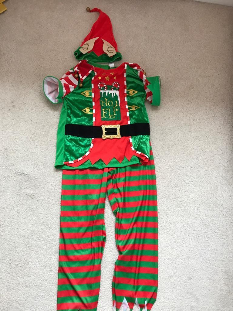 Age 7-8 elf costume