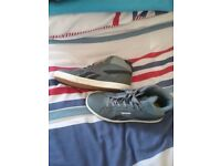Boys grey reebok trainers size 6.5