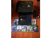 Xbox one 500gb +controller+games