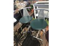 2 barstools good clean condition Can deliver nearby free
